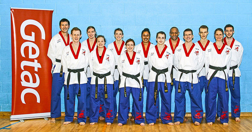 Getac sponsor TAGB team at Tae Kwon Do world championships
