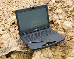 Getac S410 outdoors rugged laptop