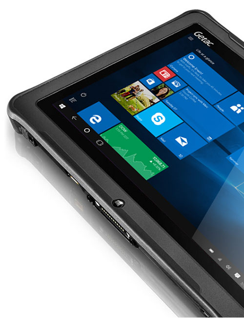 Getac F110 fully rugged tablet with windows 10